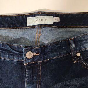 torrid Shorts - Torrid Distressed Bermuda Shorts